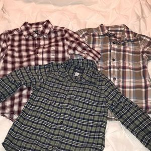 Boys Set of 3 Children's Place shirt - Small 5/6
